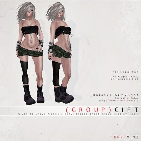 ( R E D) M I N T ~ GROUP GIFT